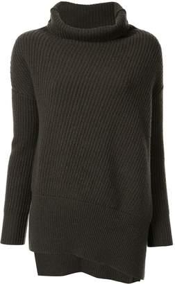 Agnona chunky-knit turtleneck jumper