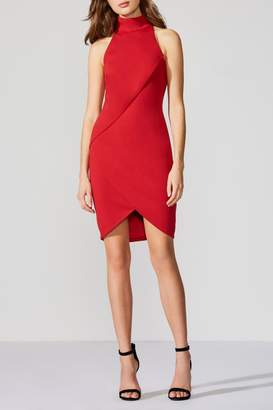 Bailey 44 Ponte Red Dress