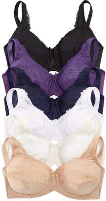 Lilyette by Bali Comfort Lace Underwire Minimizer Bra 428
