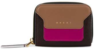 Marni tri-colour coin purse