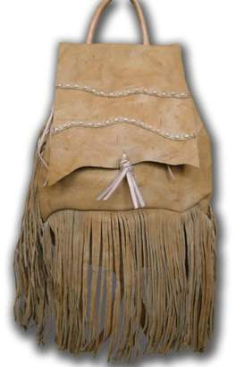 Kobler Inc. Fringed Leather Backpack