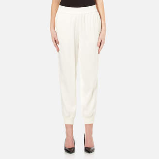 DKNY Women's Joggers with Ribbed Cuffs