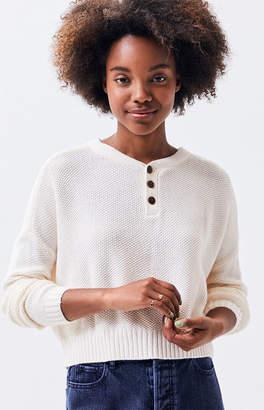 LA Hearts Henley Dolman Sweater