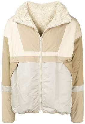 John Elliott colour block lightweight jacket