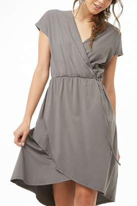 Forever 21 Surplice High-Low Dress