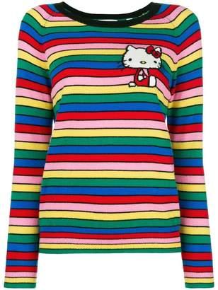 Hello Kitty Chinti & Parker cashmere striped sweater