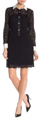 Anne Klein Lace Sheath Dress