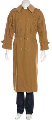 Burberry Vintage Double-Breasted Trench Coat
