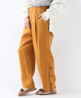 Journal Standard (ジャーナル スタンダード) - JOURNAL STANDARD 【QUWAGI/クワギ】 LINEN 1TUCK PANTS:パンツ