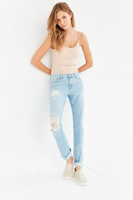 BDG Slim Boyfriend Jean - Light Denim Slash $79 thestylecure.com