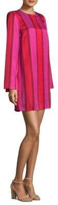 Maggie Marilyn I'm Coming Home Stripe Mini Dress
