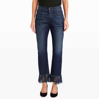 3x1 Cropped Fringe Jean