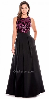 Decode 1.8 A-Line Shimmering Sequin Evening Gown $258 thestylecure.com
