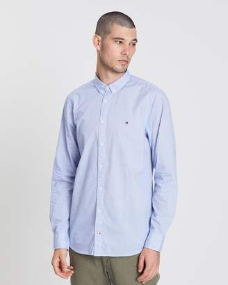 Tommy Hilfiger Slim Triple Diamond Print Shirt