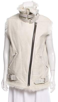 IRO Courtney Shearling Vest
