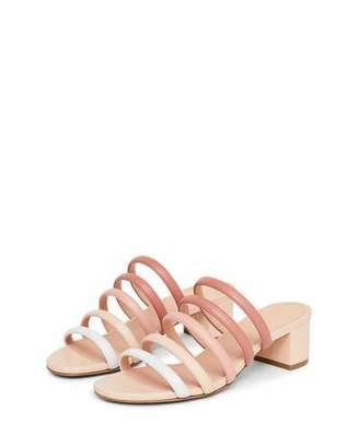 Mansur Gavriel Ombre Strappy Slide Sandals