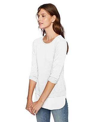 J.Crew Mercantile Women's Plus Size Woven Hem T-Shirt