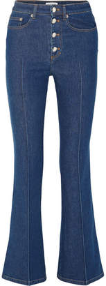 Sonia Rykiel High-rise Flared Jeans - Blue