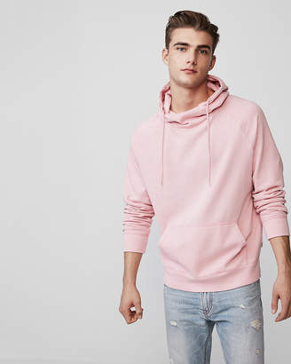 Express Garment Dyed Funnel Neck Hoodie