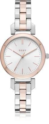 DKNY Ellington 28mm Two-Tone Women's Watch