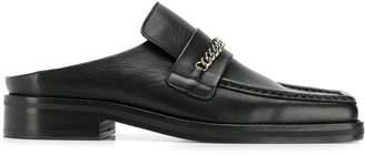 Martine Rose chain trim loafers