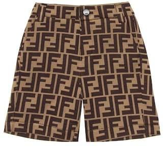 Fendi Cotton-blend Bermuda shorts