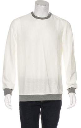 Alexander Wang Grosgrain-Trimmed Sweater