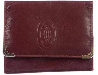 Cartier Smooth Leather Wallet