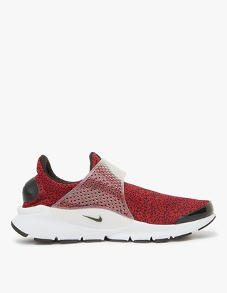 Nike Sock Dart QS Shoe in Red $120 thestylecure.com