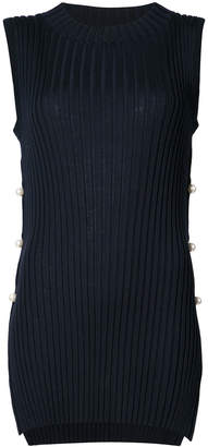 ADAM by Adam Lippes sleeveless pearl embellished sweater