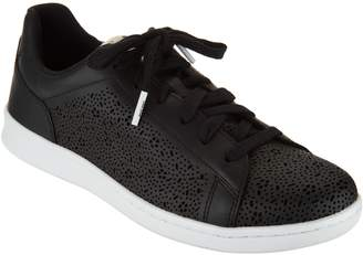 ED Ellen Degeneres Leather Lace-up Sneakers - Chaperf