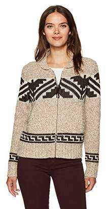 Pendleton Women's Maude Wool Blend Cardigan Sweater