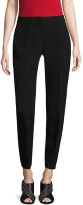 Armani Exchange Women's Banded Waist Woven Pants