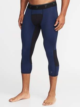 Old Navy Go-Dry 3/4-Length Base Layer Tights for Men
