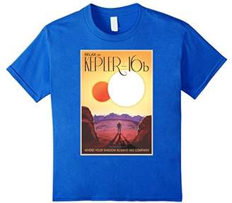 Kepler-16b T-shirt Space Travel Poster