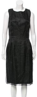 Dolce & Gabbana Sleeveless Sheer Dress w/ Tags