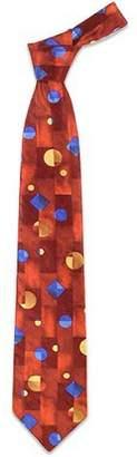 Forzieri Geometric Silk Tie