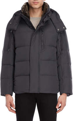 Andrew Marc Baltic Hooded Down Coat