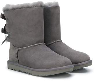 UGG TEEN leather ankle boots