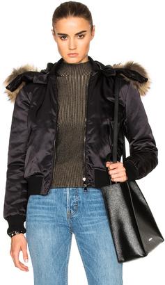 Moncler Eulimene Giubbotto Jacket $2,050 thestylecure.com