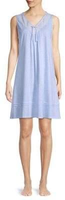 Carole Hochman Floral-Print Cotton Nightgown
