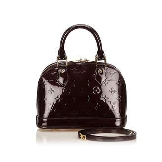 4f818794519 Louis Vuitton Alma BB Purple Patent leather Handbag