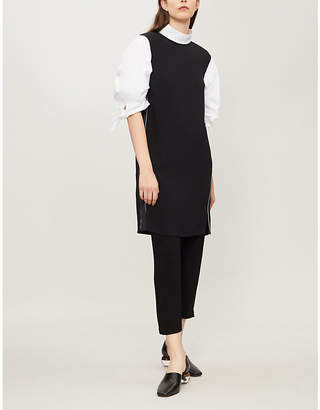 Theory Minimal crepe sheath dress