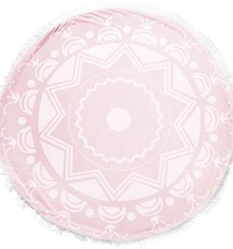 Little Giraffe Pink Round Blanket