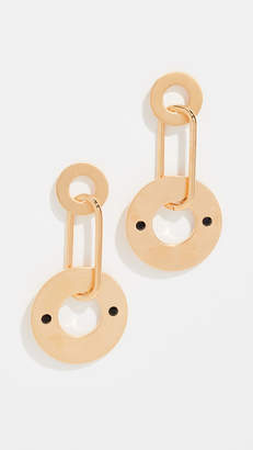 Marni Metal Earrings with Strass
