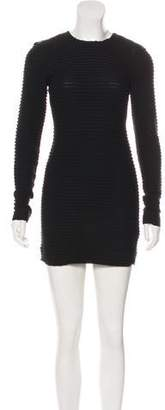 Kimberly Ovitz Knit Mini Dress