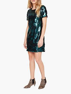 Montana Sequin Dress, Green