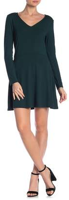 Abound V-Neck Skater Dress