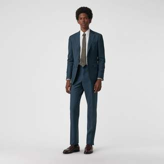 Burberry Soho Fit Wool Mohair Suit , Size: 48R