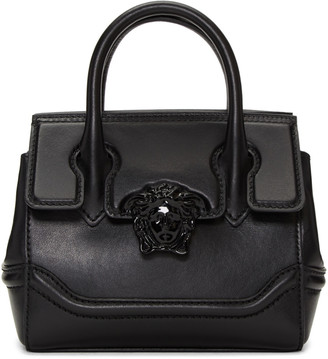 Versace Black Mini Palazzo Empire Bag $1,495 thestylecure.com
